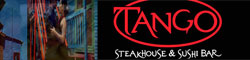 Tango Steakhouse and Sushi Bar located on St. Armands Circle, Sarasota, Florida